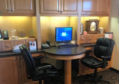Dr. Dennis Lucas Naples Florida Dental Consultation Room