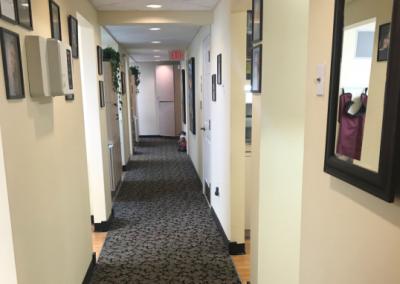 Dr. Dennis Lucas Naples Florida Dentist hallway in office