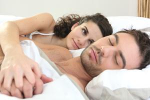 Sleep device for snoring